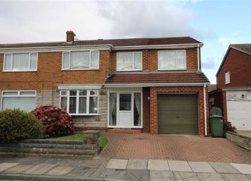 Thumbnail 4 bedroom semi-detached house for sale in Iveston Grove, Billingham