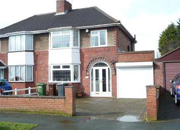 Thumbnail 3 bedroom semi-detached house for sale in Newbolds Road, Fallings Park, Wolverhampton