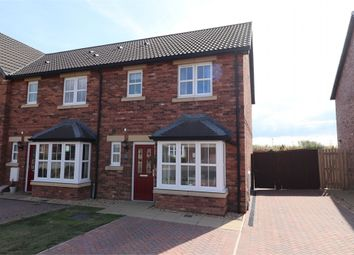 Thumbnail 3 bed semi-detached house for sale in Elliot Drive, Crindledyke, Kingstown, Carlisle, Cumbria