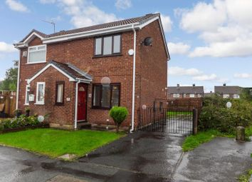 Thumbnail 2 bed semi-detached house to rent in Ellerby Avenue, Swinton, Manchester