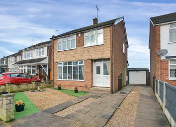 Thumbnail 3 bed detached house for sale in Lambley Avenue, Mansfield