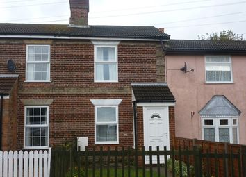 Thumbnail 2 bedroom cottage to rent in Church Road, Kessingland, Lowestoft