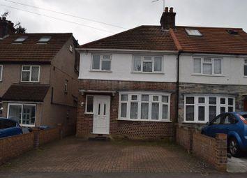 Thumbnail 3 bedroom semi-detached house for sale in Oakdene Road, Watford