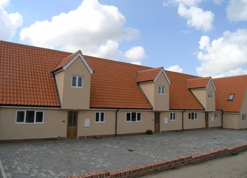 Thumbnail 2 bed terraced house to rent in Bank Mews, Wrentham, Beccles
