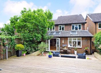 Thumbnail 4 bed link-detached house for sale in Robin Hill, Godalming