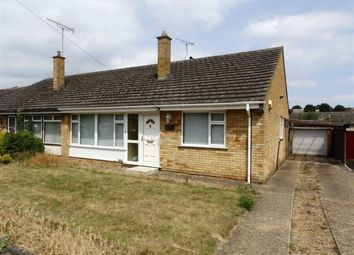 Thumbnail 3 bed semi-detached bungalow for sale in Holcombe Crescent, Ipswich, Suffolk