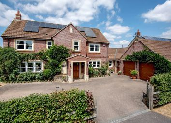 Thumbnail 4 bed detached house for sale in Morris Way, North Curry, Taunton