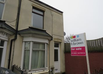 Thumbnail 2 bedroom end terrace house for sale in Colenso Avenue, Holland Street, Hull