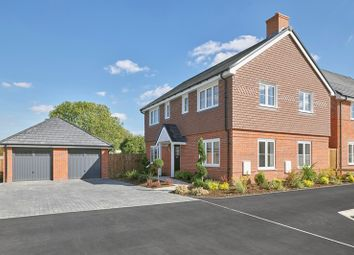 Thumbnail 4 bed detached house for sale in Barn Road, Longwick, Buckinghamshire