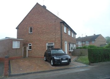 Thumbnail 3 bed semi-detached house for sale in Gayer Street, Courthouse Green, Coventry