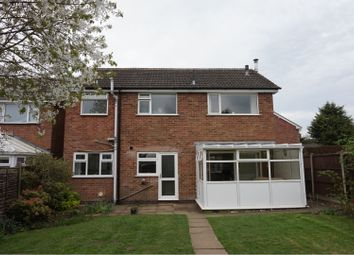 Thumbnail 4 bed detached house for sale in Oakfield Avenue, Lutterworth