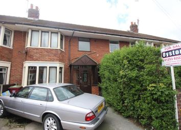 Thumbnail 4 bedroom terraced house for sale in Fitzroy Road, Blackpool