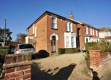 Thumbnail 4 bed detached house for sale in Regent Road, Brightlingsea, Colchester