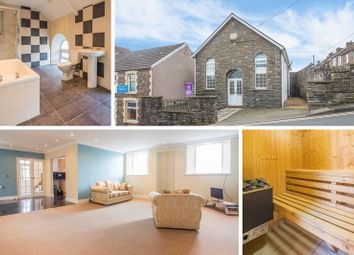 Thumbnail 4 bed detached house for sale in Heolddu Road, Bargoed