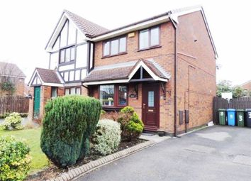 Thumbnail 3 bed semi-detached house for sale in Canterfield Close, Littlemoss, Manchester
