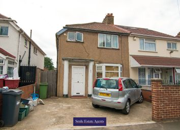 Thumbnail 3 bed semi-detached house for sale in Walnut Tree Road, Heston