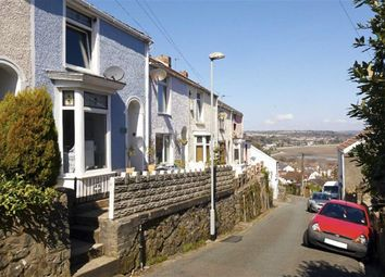 Thumbnail 2 bed terraced house for sale in Thistleboon Road, Mumbles, Swansea