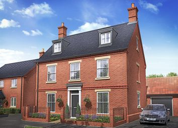 "Thumbnail 5 bed detached house for sale in ""The Chestnut"" at Lodge Road, Cranfield, Bedford"
