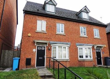 Thumbnail 4 bedroom semi-detached house for sale in Cornwall Street, Openshaw, Manchester