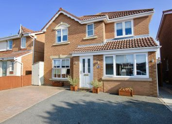Thumbnail 4 bed detached house for sale in Llys Bran, Prestatyn
