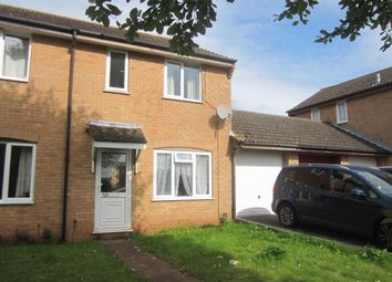 Thumbnail 3 bed end terrace house to rent in Sargent Close, Exeter, Devon
