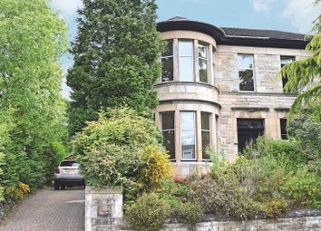 Thumbnail 4 bedroom semi-detached house for sale in Wykeham Road, Scotstounhill, Glasgow