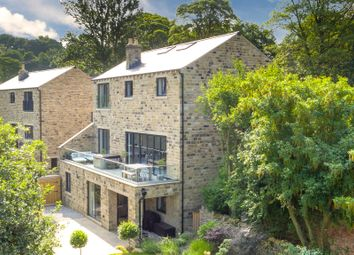 Thumbnail 6 bedroom detached house for sale in Fulstone Hall Lane, New Mill, Holmfirth