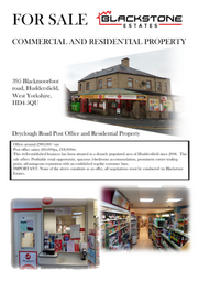 Thumbnail 5 bed terraced house for sale in Blackmoorfoot Road, Crosland Moor, Huddersfield