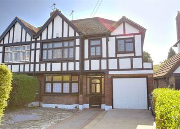 Thumbnail 4 bedroom semi-detached house for sale in East End Road, East Finchley, London