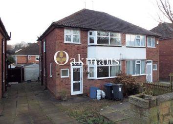 Thumbnail 3 bedroom semi-detached house for sale in Gibbins Road, Birmingham, West Midlands.