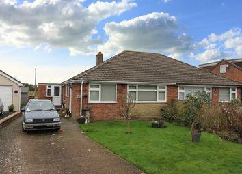 Thumbnail 3 bed semi-detached bungalow for sale in Capel Street, Capel-Le-Ferne, Folkestone Kent