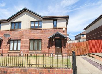 Thumbnail 3 bed semi-detached house to rent in Waulkmill Avenue, Barrhead