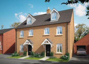 Thumbnail 4 bed semi-detached house for sale in Brick Kiln Road, Raunds, Northampton, Northamptonshire