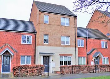 Thumbnail 3 bed terraced house for sale in Barn Meadow Road, Birstall, Leicester, Leicestershire