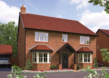 "Thumbnail 5 bed detached house for sale in ""The Winchester"" at Harbury Lane, Heathcote, Warwick"