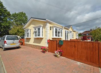 Thumbnail 2 bed mobile/park home for sale in Manor Park Homes Estate, New Road, Hellingly, Hailsham