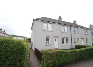 Thumbnail 2 bed flat for sale in Ladeside Drive, Johnstone, Renfrewshire