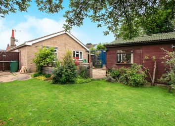 Thumbnail 2 bed detached bungalow for sale in Church Street, Baston, Peterborough