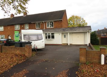 Thumbnail 3 bed end terrace house for sale in Freasley Road, Shard End, Birmingham