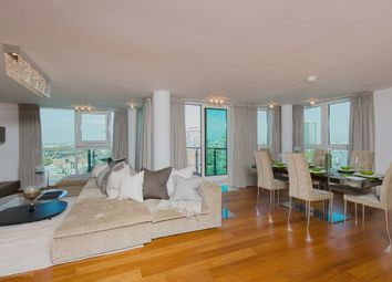 Thumbnail 3 bed flat for sale in Kestrel House, St George Wharf, Vauxhall, London