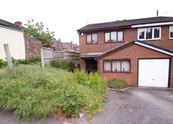 Thumbnail 3 bed semi-detached house for sale in Oak Street, Birches Head, Stoke-On-Trent