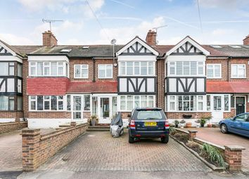 Thumbnail 3 bed terraced house for sale in Glastonbury Avenue, Woodford Green