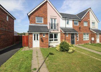Thumbnail 3 bed semi-detached house to rent in Hindmarsh Drive, Barley Rise, Ashington