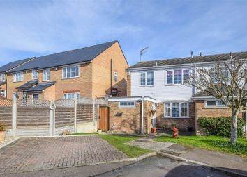 Thumbnail 3 bed semi-detached house for sale in Wheelers Close, Nazeing, Waltham Abbey