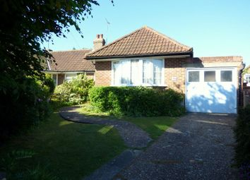 Thumbnail 2 bed bungalow to rent in Highdown Road, Lewes