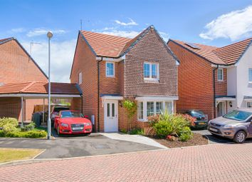 Thumbnail 3 bed detached house for sale in Cornwell Close, Buntingford