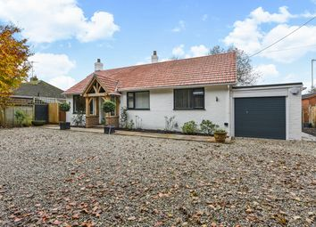 Thumbnail 3 bed detached bungalow for sale in Church Road, Upper Farringdon, Hampshire