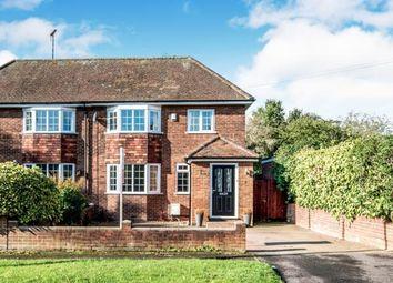 Thumbnail 3 bed semi-detached house for sale in Ridgeway, Brogborough, Bedford, Bedfordshire
