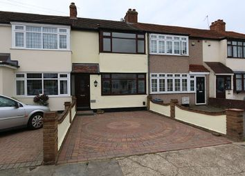 Thumbnail 3 bed terraced house for sale in Linley Crescent, Romford, Essex
