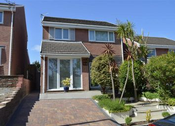 Thumbnail 3 bed detached house for sale in Woodburn Drive, West Cross, Swansea